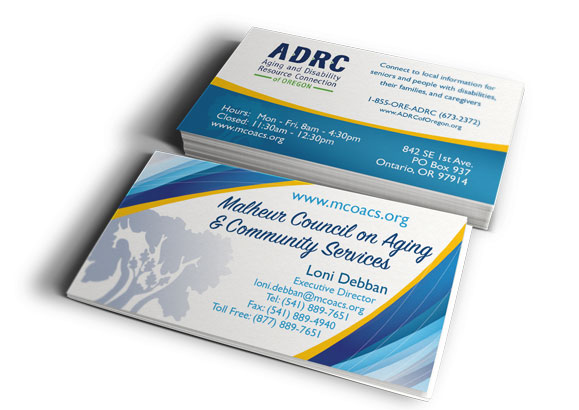 MCOA&CS Business Cards