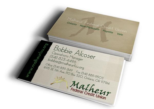 MFCU business cards