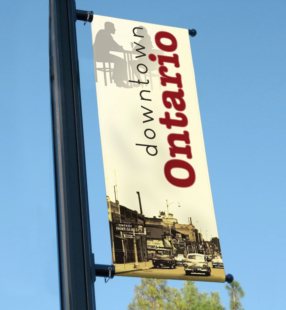 Downtown Ontario Banners